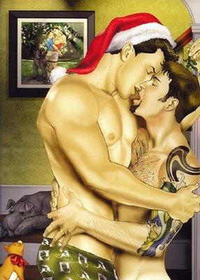 GayChristmasKiss